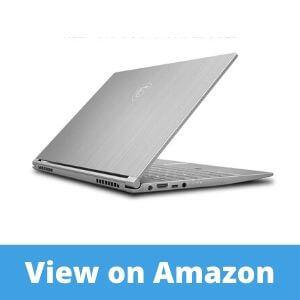 MSI PS42 8M-064US Professional Thin Bezel Laptop Reviews
